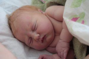Stroud home birth baby
