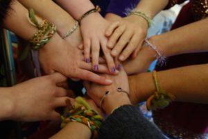 Mother Blessing - women's hands