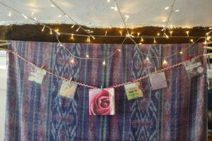 Birth Affirmations on a string