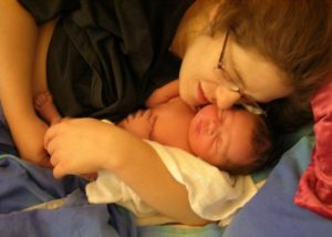 Precious moments after birth